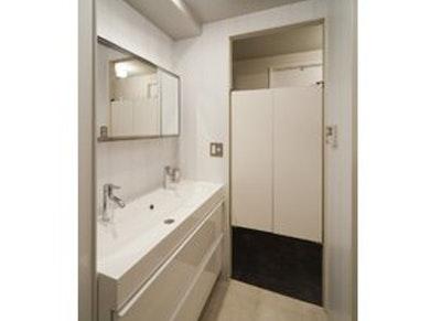 洗面室・脱衣室 スイング扉 イメージ