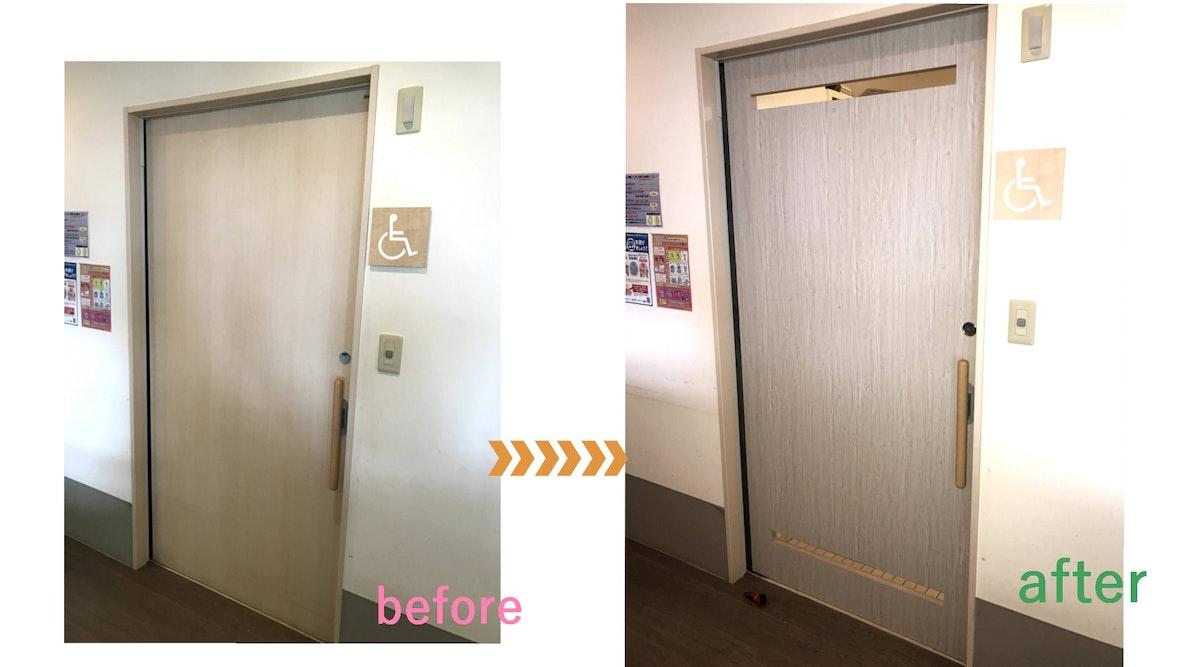 引き戸の注文 オーダー引き戸 介護施設の引き戸 病院の引き戸 リフォームの引き戸 トイレの引き戸