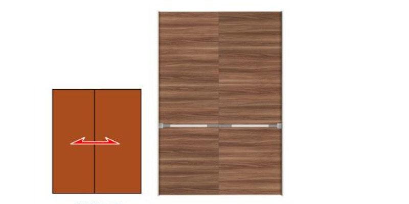木製ドア オーダードア 引き違い戸