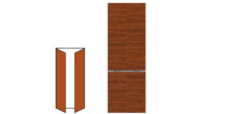 木製ドア オーダードア 両開き
