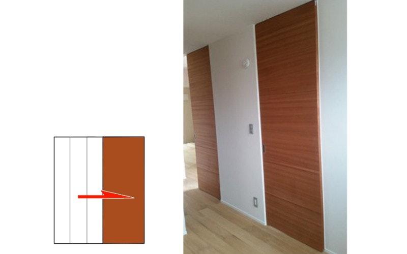 木製ドア ドアの注文 オーダードア 引き戸