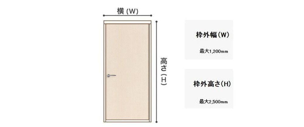木製ドア オーダードア サイズの測り方 ドアのデザイン ドアの注文 ドアのサイズ 建具の専門店 片開き戸 引き戸の注文 フラッシュドア リフォームドア 新築ドア 採寸