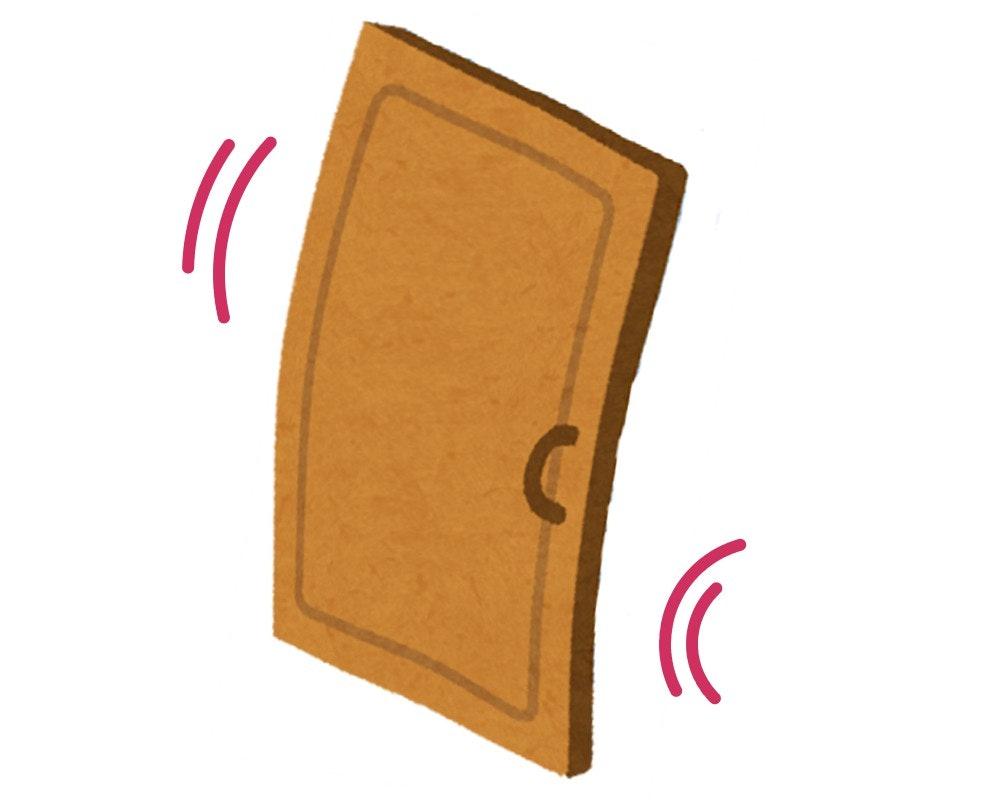 木製ドア オーダードア ドアの反り対策