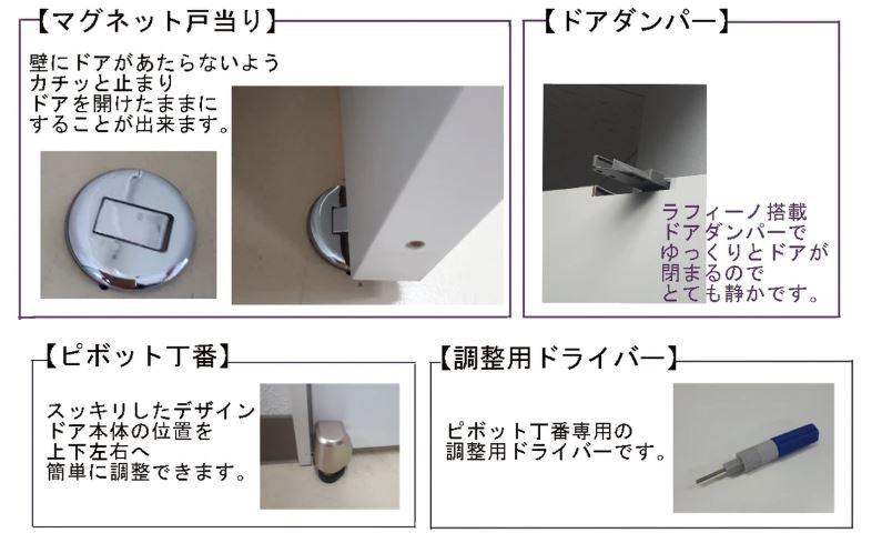 機能性の高いドア ドアの注文 木製室内ドア