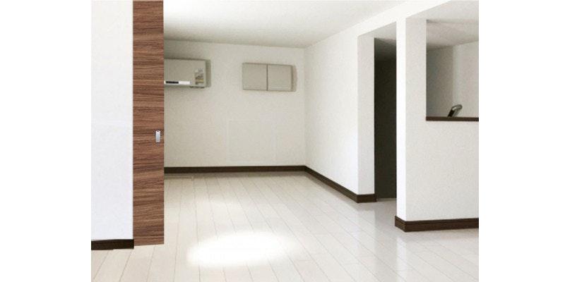 広いリビングの間仕切り・部屋と部屋を一体に 木製ドア 注文ドア ドアの注文 オーダードア オーダー引き戸 扉の発注 木製室内ドア ドアの選び方 建具の注文