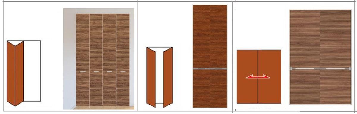 収納扉 クローゼット扉 折戸の注文 オーダードア 扉の注文 折れ戸の注文 収納用のドア スペースが狭いドア 押し入れに折れ戸 収納引き戸 クローゼット折れ戸