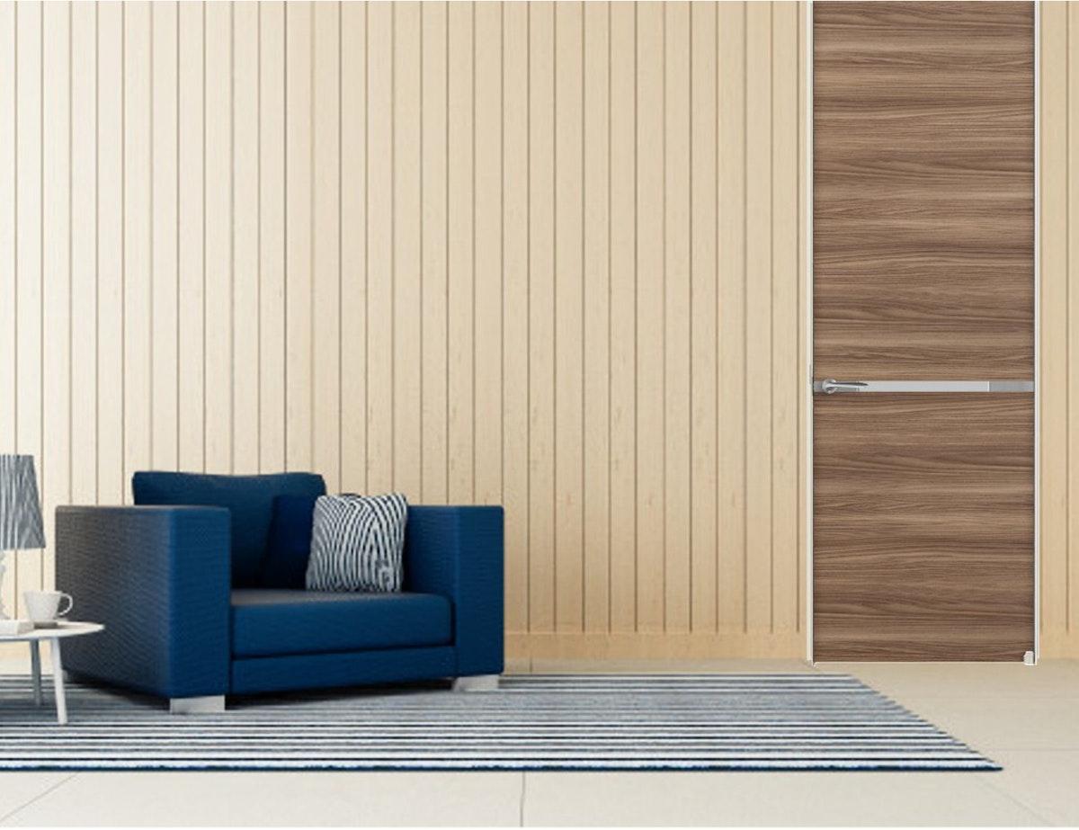 木製フラッシュアドア ドアの注文 ハイドア