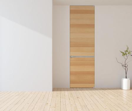 ドア注文 ガラス入りドア シンプルな木製ドア フラッシュドア オーダードア ドアの注文 収納 クローゼット オレフィンシート ピボット丁番 ドア交換