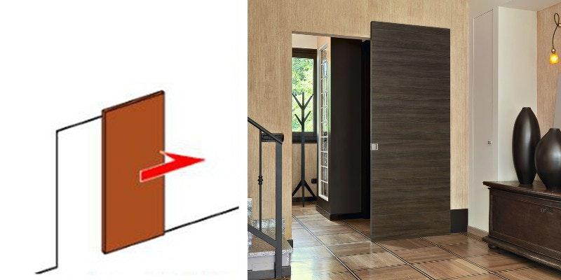 ドア注文 引き戸注文 建具注文 木製おおきいドア アウトセット 大きめドア 重厚感 オーダードア ドアの注文 収納 クローゼットドア マンションの扉