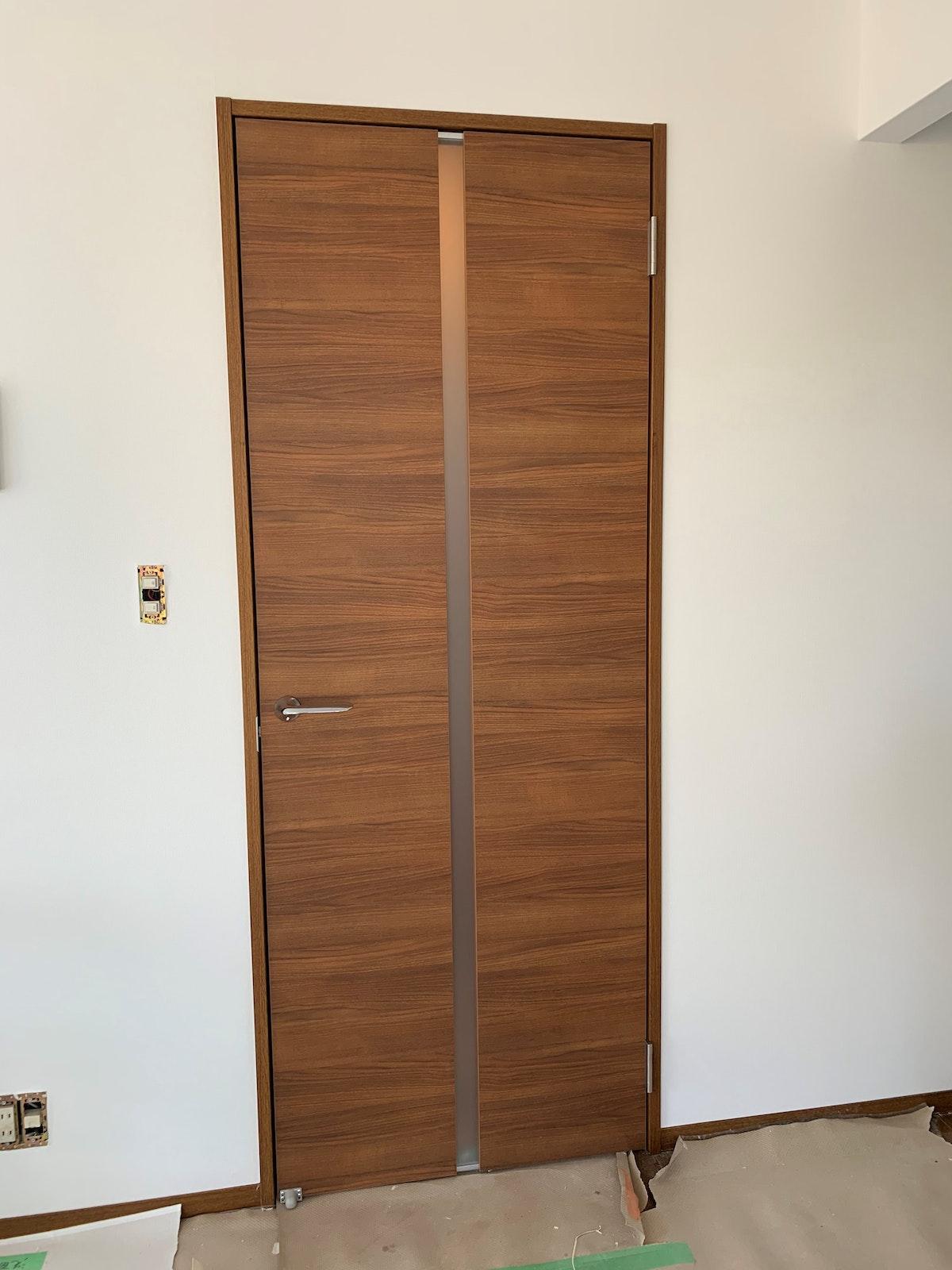 片開きドア リビングドア 建具注文 ドア専門