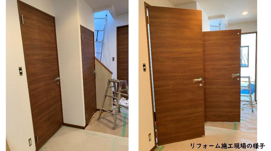ドアの注文 リビングドア 洗面所の扉 トイレのドア 木製室内ドア リフォームのドア 新築のドア オーダードア 扉の注文 業者御用達 扉の専門店
